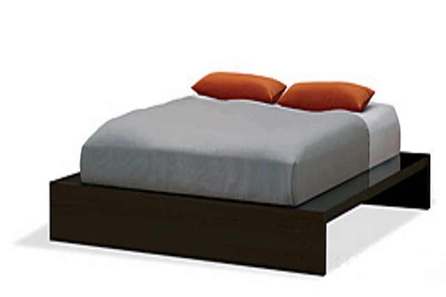 Platform Bed Decor